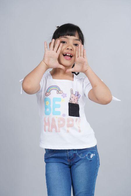 Blusa para Niña Color Blanco Ref: 022859 - Lazus - Talla: 4
