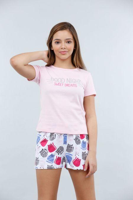 Pijama para Teen Color Rosado Ref: 021081 - CCU - Talla: 10