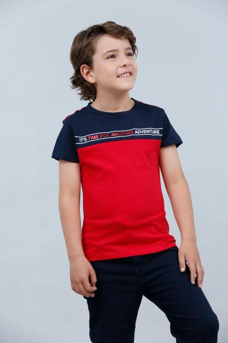 Camiseta para Niño Color Rojo Ref: 030183 - CCU - Talla: 6
