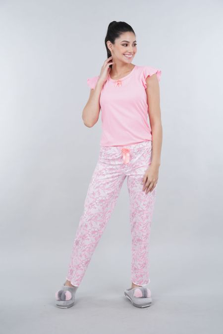 Pijama para Mujer Color Rosado Ref: 000378 - Myaw - Talla: S
