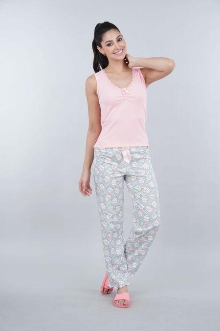 Pijama para Mujer Color Rosado Ref: 000381 - Myaw - Talla: S