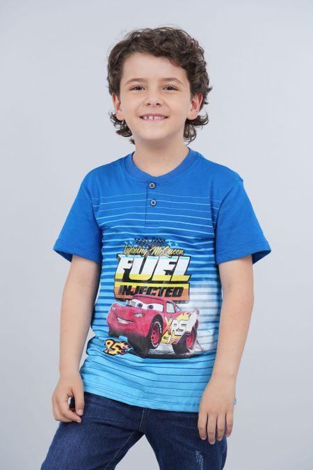 Polo para Niño Color Azul Ref: 112083 - Tex Sion - Talla: 10