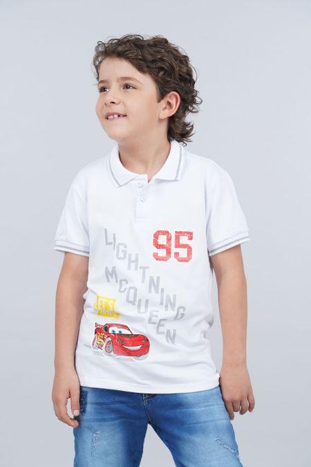 Polo para Niño Color Blanco Ref: 112084 - Tex Sion - Talla: 10