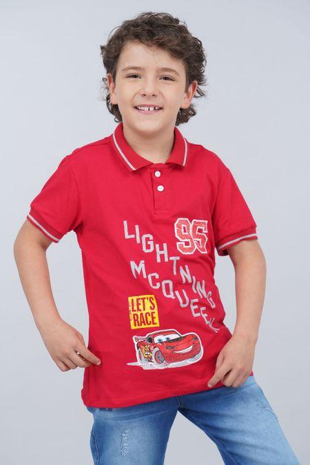 Polo para Niño Color Rojo Ref: 112084 - Tex Sion - Talla: 10