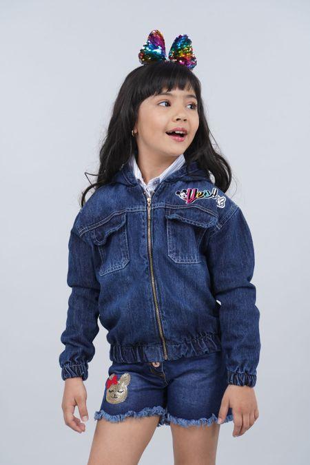Chaqueta para Niña Color Azul Ref: 128026 - Tex Sion - Talla: 6