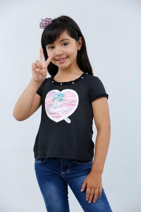 Blusa para Niña Color Negro Ref: 022978 - Lazus - Talla: 4