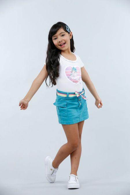 Blusa para Niña Color Marfil Ref: 022978 - Lazus - Talla: 4