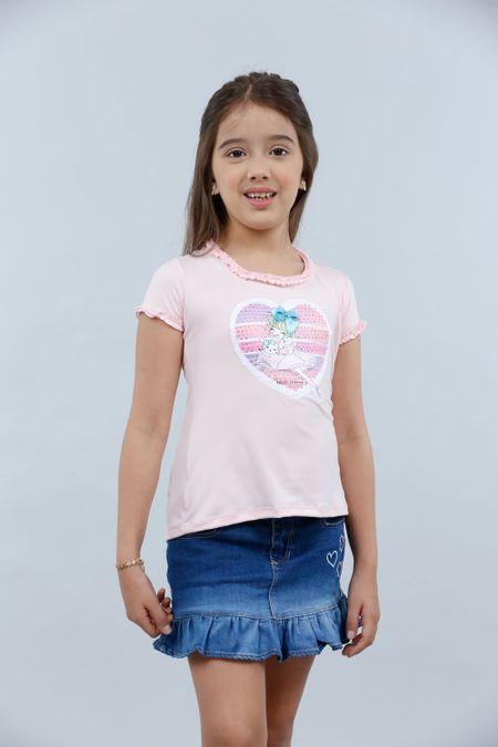 Blusa para Niña Color Rosado Ref: 022978 - Lazus - Talla: 4
