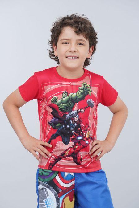 Camiseta para Niño Color Rojo Ref: 203244 - Confetex - Talla: 10