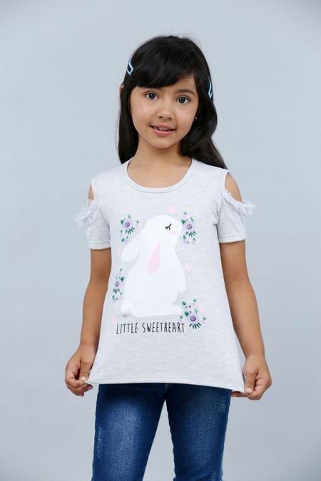Blusa para Niña Color Marfil Ref: 023016 - Lazus - Talla: 4