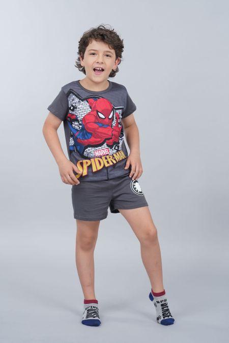 Pijama para Niño Color Gris Ref: 205070 - Confetex - Talla: 6