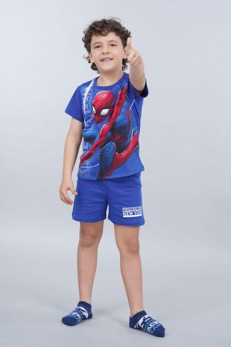 Pijama para Niño Color Azul Ref: 205079 - Confetex - Talla: 6