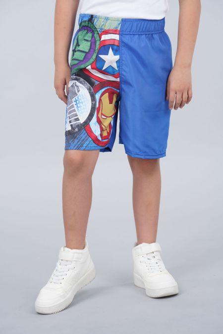 Pantaloneta para Niño Color Azul Ref: 218052 - Confetex - Talla: 6