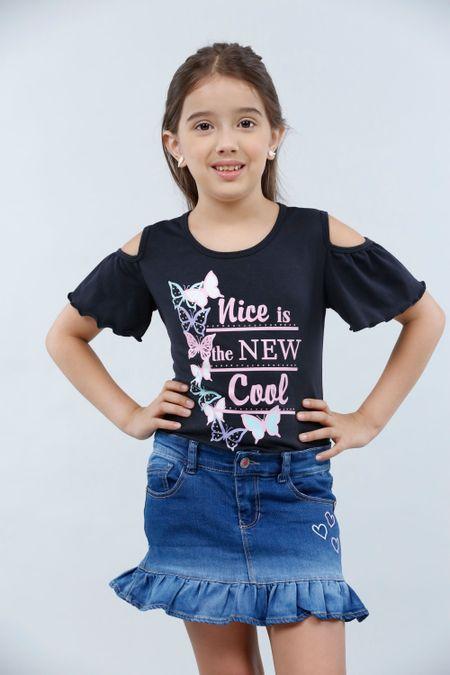Blusa para Niña Color Negro Ref: 230047 - Lazus - Talla: 4