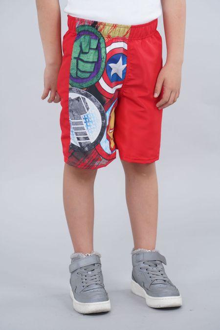 Pantaloneta para Niño Color Rojo Ref: 218052 - Confetex - Talla: 6