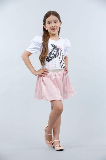 Conjunto para Niña Color Blanco Ref: 008128 - Lazus - Talla: 4