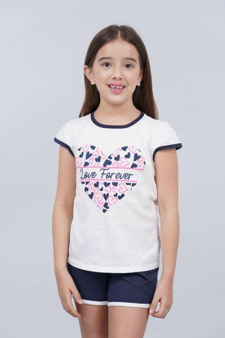 Pijama para Niña Color Azul Ref: 001964 - CCU - Talla: 8
