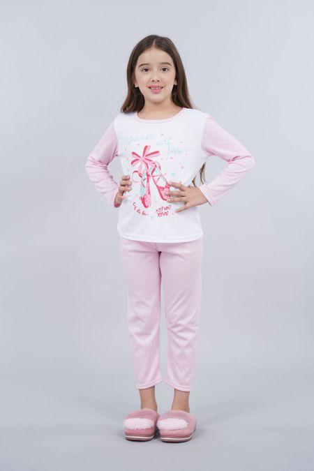 Pijama para Niña Color Rosado Ref: 001967 - CCU - Talla: 8