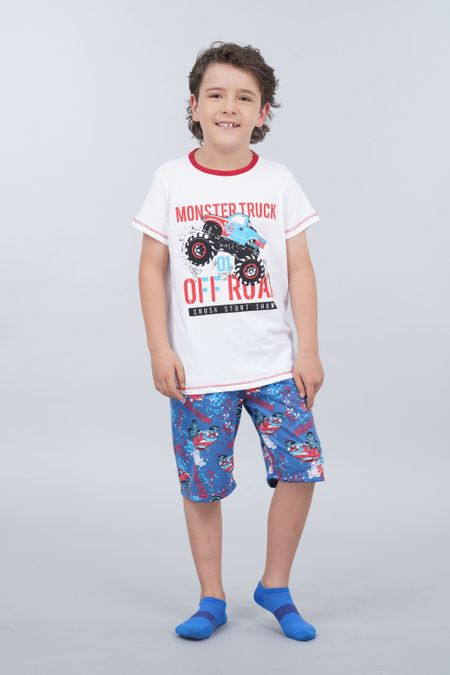 Pijama para Niño Color Rojo Ref: 030204 - CCU - Talla: 6