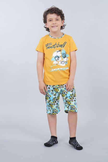 Pijama para Niño Color Amarillo Ref: 030205 - CCU - Talla: 8