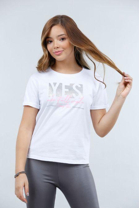 Blusa para Teen Color Blanco Ref: 030780 - Lazus - Talla: 14