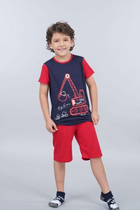 Pijama para Niño Color Azul Ref: 030210 - CCU - Talla: 6