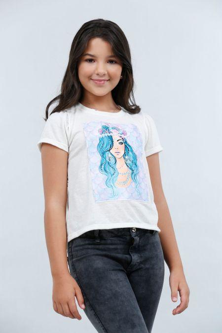 Blusa para Teen Color Marfil Ref: 030771 - Lazus - Talla: 14