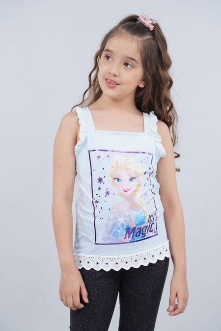 Blusa para Niña Color Azul Ref: 101772 - CCU - Talla: 6