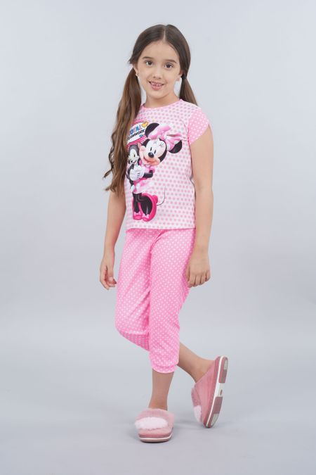 Pijama para Niña Color Rosado Ref: 105350 - CCU - Talla: 2
