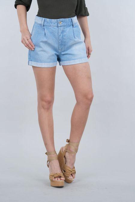 Short para Mujer Color Azul Ref: 103497 - E.U - Talla: 6
