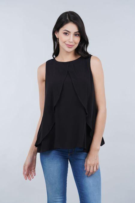 Blusa para Mujer Color Negro Ref: 029919 - CCU - Talla: S