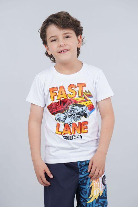 Camiseta para Niño Color Blanco Ref: 033502 - Confetex - Talla: 4