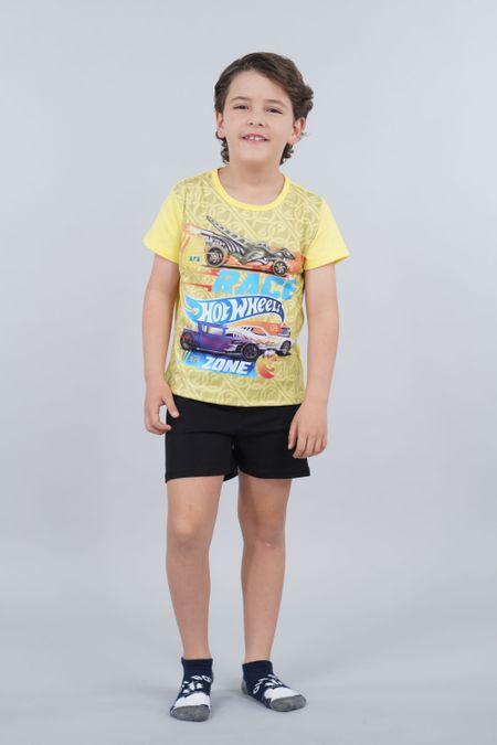 Pijama para Niño Color Amarillo Ref: 034500 - Confetex - Talla: 4