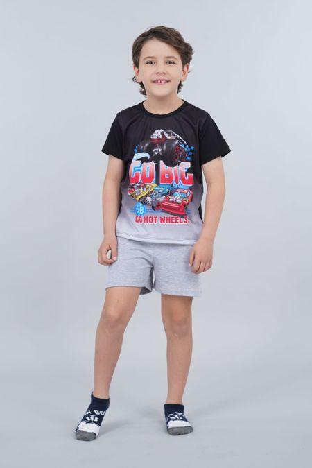 Pijama para Niño Color Negro Ref: 034502 - Confetex - Talla: 4