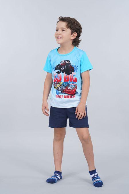Pijama para Niño Color Azul Ref: 034502 - Confetex - Talla: 4