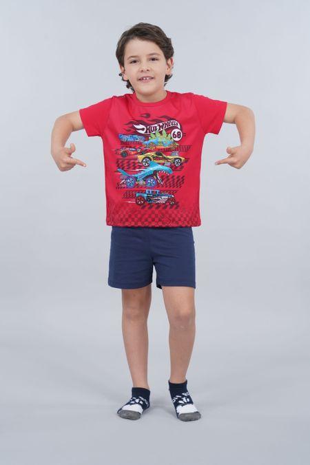 Pijama para Niño Color Rojo Ref: 034503 - Confetex - Talla: 8
