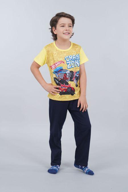 Pijama para Niño Color Amarillo Ref: 034505 - Confetex - Talla: 6