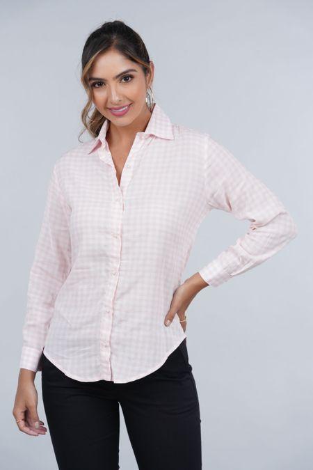 Blusa para Mujer Color Rosado Ref: 029867 - CCU - Talla: S