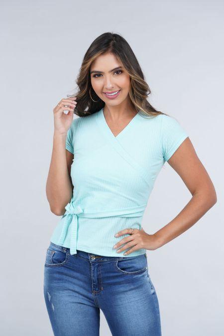 Blusa para Mujer Color Verde Ref: 033284 - CCU - Talla: XL