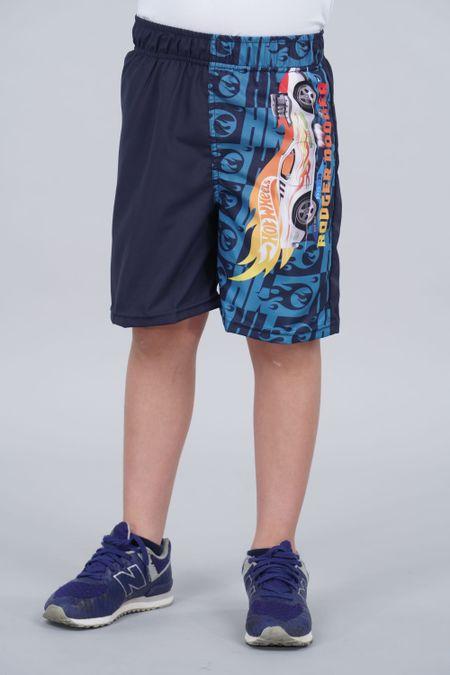 Pantaloneta para Niño Color Azul Ref: 036502 - Confetex - Talla: 4