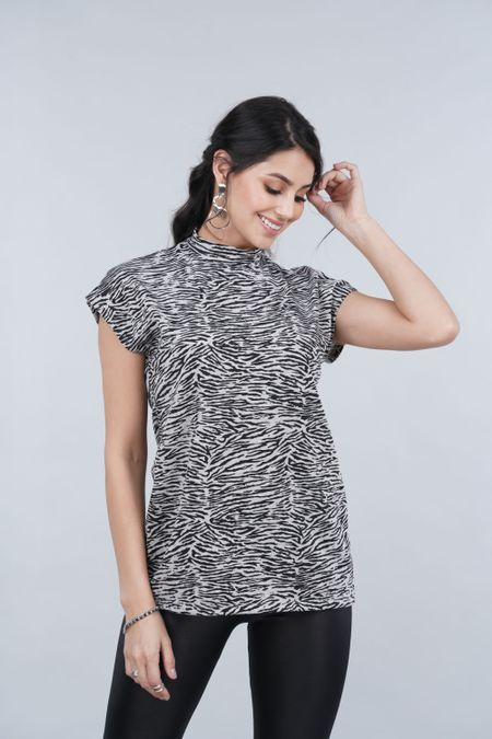 Blusa para Mujer Color Gris Ref: 025884 - CCU - Talla: S