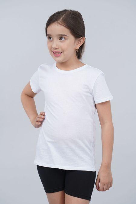 Camiseta para Niña Color Blanco Ref: 002011 - CCU - Talla: 8