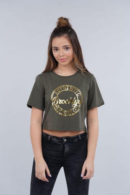 Blusa para Teen Color Verde Ref: 021133 - CCU - Talla: 10