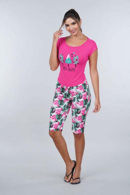 Pijama para Mujer Color Fucsia Ref: 011307 - CCU - Talla: S