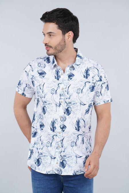 Camisa para Hombre Color Blanco Ref: 003330 - CCU - Talla: S