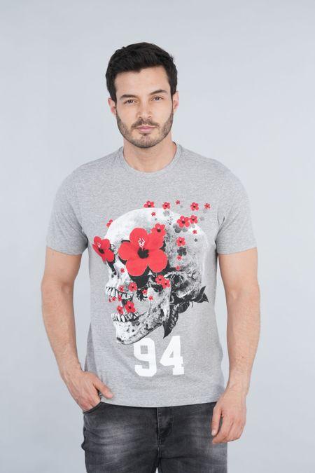 Camiseta para Hombre Color Gris Ref: 000981 - CCU - Talla: S