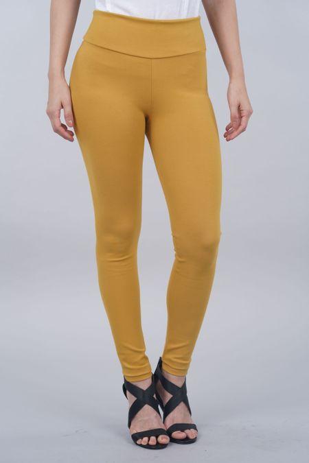 Pantalon para Mujer Color Amarillo Ref: 000422 - Confetex - Talla: 12