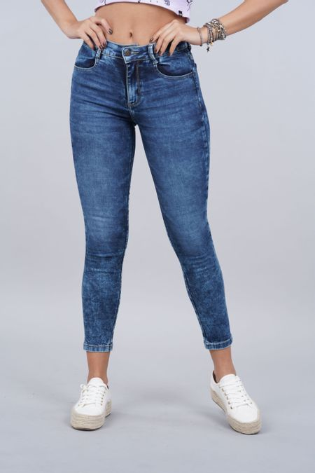 Jean para Mujer Color Azul Ref: 103300 - E.U - Talla: 6