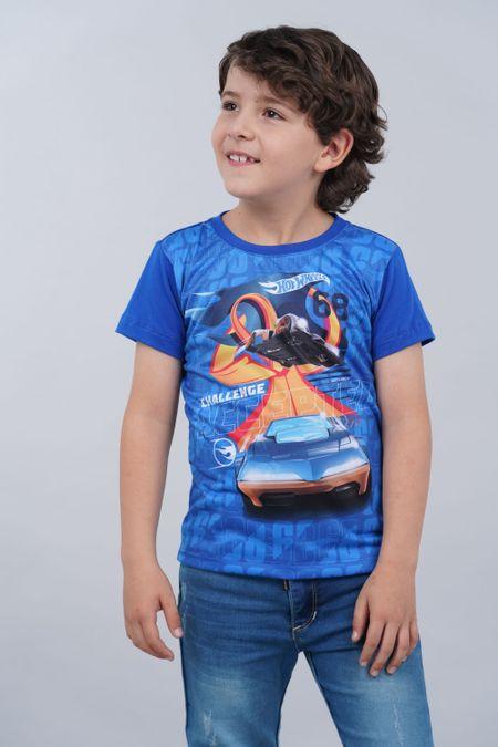 Camiseta para Niño Color Azul Ref: 033500 - Confetex - Talla: 4