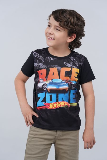 Camiseta para Niño Color Negro Ref: 033501 - Confetex - Talla: 4